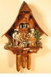 WoodChopper  Chalet Musical Cuckoo Clock  Eight (8) Day Movement