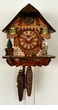 WOOD CHOPPER CHALET CUCKOO CLOCK