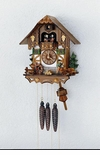 Chalet Cuckoo Clock Wood Chopper