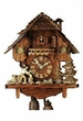 "CHALET CUCKOO CLOCKS:  14"" WOODCHOPPER  8 DAY MOVEMENT"