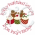 24 Personalized Christmas Baking stickers