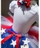 4th of July Flag Personalized Tutu Set