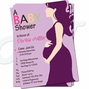 A Baby Shower Girl Invitations