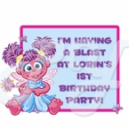 Abby Cadabby Personalized Party Favor 1