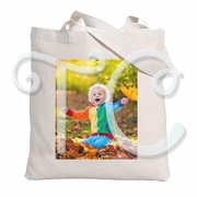 Add Your Photo Personalized Canvas Tote