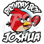 Angry Bird Personalized Birthday t-shirt