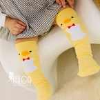 Baby Chick Knee High Socks
