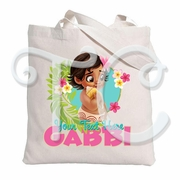 Baby Moana Personalized Canvas Tote Bag