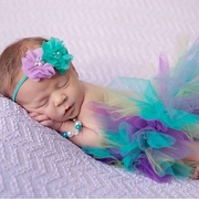 Baby Peacock Newborn tutu Custom set