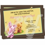 Baby Winnie the Pooh personalized Invitations