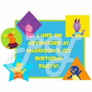 Backyardigans Personalized Party Favor