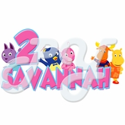 Backyardigans personalized t-shirt - You select color
