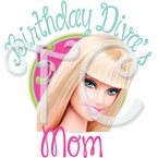 Barbie Parents Personalized Birthday t shirt