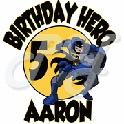 Batman Personalized Birthday t-shirt