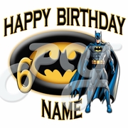 Batman Personalized Birthday t shirt