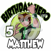 Ben 10 Omniverse Personalized Birthday t shirt