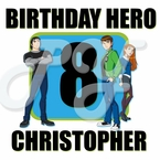 Ben 10 Personalized Birthday t shirt