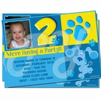Blue's Clues Personalized Invitations