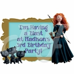 Brave Personalized Party Favor