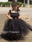 Breakfast at Tiffany's, Audrey Hepburn Black Tutu Dress