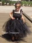 Breakfast at Tiffany's Black tutu dress