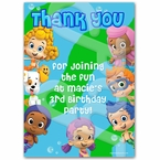 Bubbie Guppie personalized thank you cards