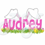 Bunny Ears Personalized Easter T shirt