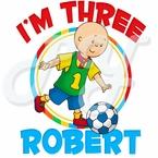 Caillou Personalized Birthday T-shirt