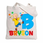 Caillou Personalized Canvas tote bag