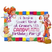 Candyland Personalized Party Favors t-shirt