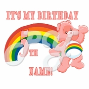 Care Bears Personalized Birthday t shirt