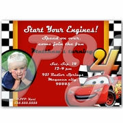 Cars personalized Invitations