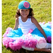 Cotton Candy - Pink and Blue pettiskirt