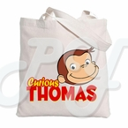 Curious George Personalized Tote Bag