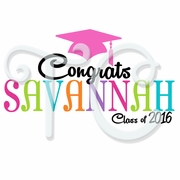 Custom Chevron & Dots Graduation T Shirt