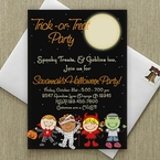 Custon Halloween Invitations