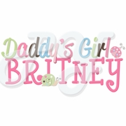 Daddy's Girl Personalized t shirt