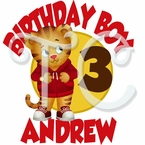 Daniel's Tiger Neighborhood Personalized Birthday t shirt