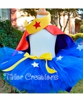 DC Superhero Wonder Woman Tutu Set