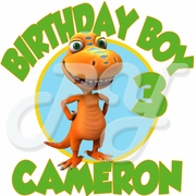 Dinosaur Train Personalized Birthday t shirt