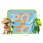 Dinosaur Train Personalized Party Favor