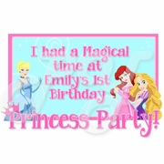 Disney Princess 1st Birthday Personalized Party Favors