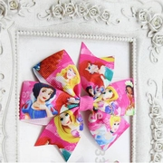 Disney Princess Grosgrain Hair Bow Clip