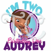 Doc McStuffins Nursery Pals Personalized Birthday t-shirt