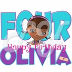 Doc McStuffins Personalized Birthday t-shirt