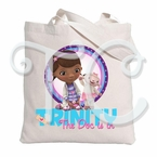 Doc McStuffins Personalized Canvas Tote Bag