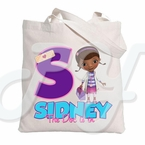 Doc McStuffins Personalized Tote Bag