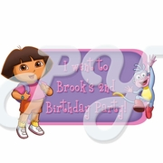 Dora the Explorer Personalized Party Favor