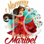 Elena of Avalor personalized birthday Parents t shirt