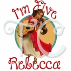Elena of Avalor personalized birthday t shirt
